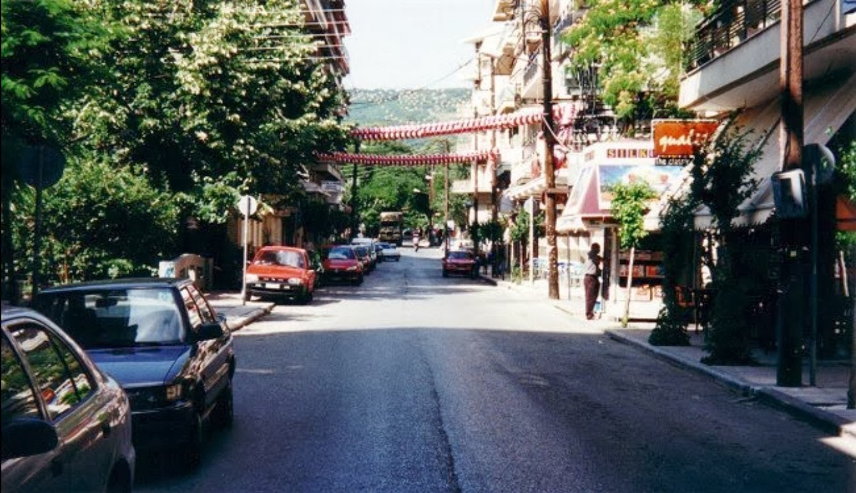 Η οδός Μοναστηρίου το 2008