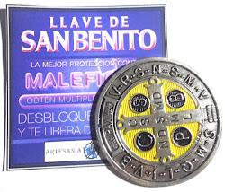 Medallon Esmaltado de San Benito