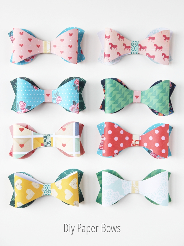 Make your own Diy Paper Bows