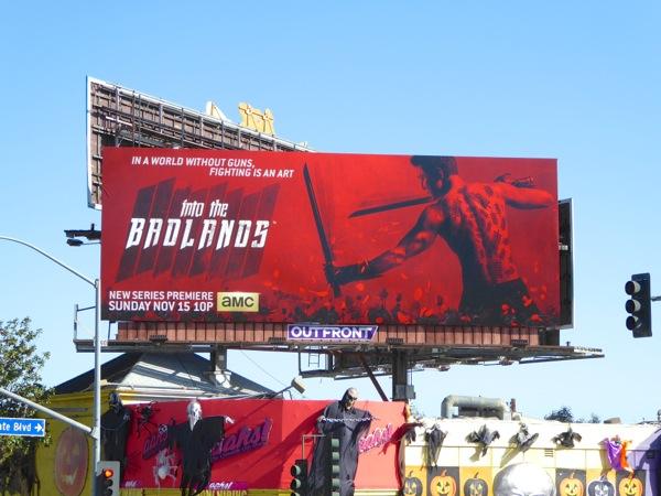 Into the Badlands season 1 billboard