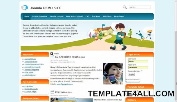 School education vector joomla template maxwellsz