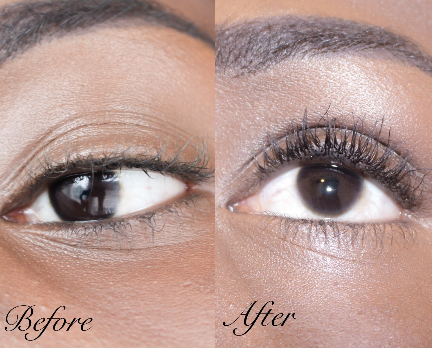 MDMFlow Greater Than Mascara Before and After