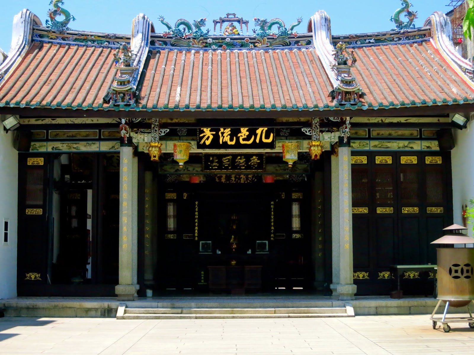 Temple in Georgetown, Penang, Malaysia