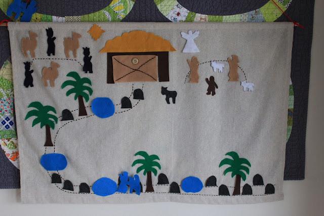 Diy Advent Calendar Nativity : Easy peasy lemon squeezy nativity advent calendar