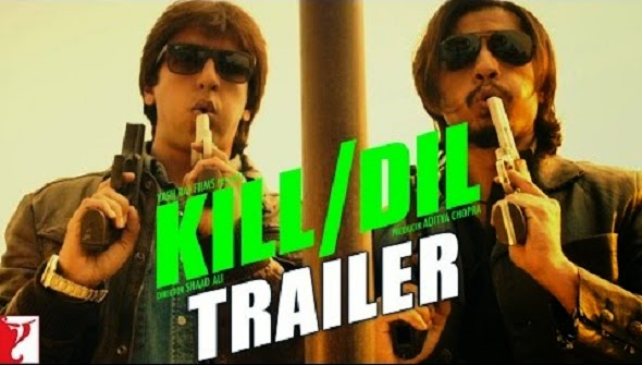 Kill Dil 2014 hindi movie poster