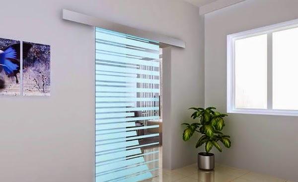 glass door unique
