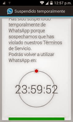 whatsapp plus suspendido