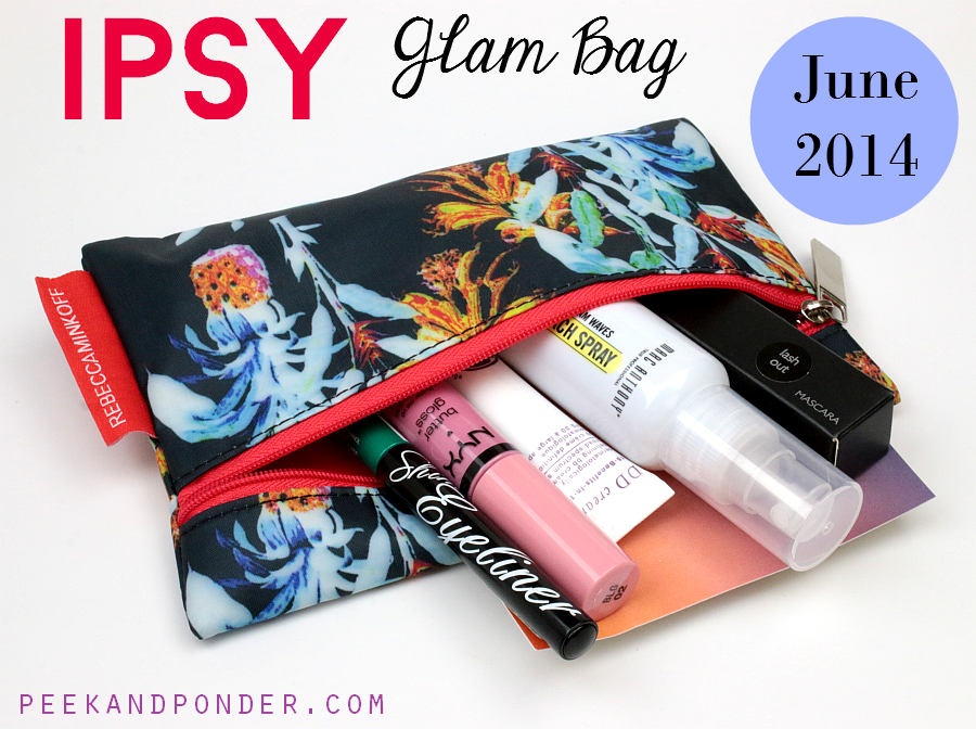 Ipsy Glam Bag June 2014