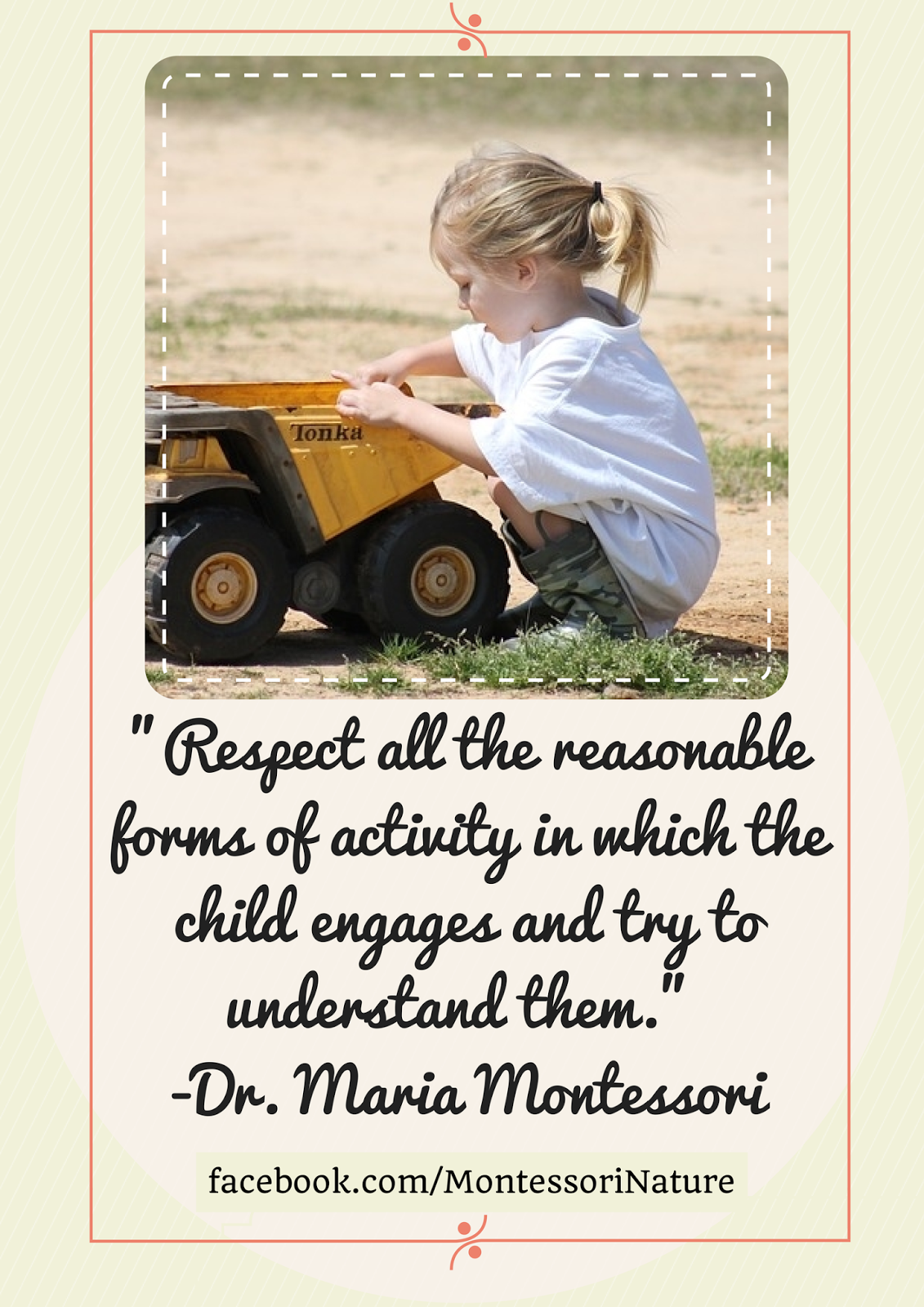 maria montessori quotes - maria montessori quotes from brainyquotecom - maria montessori the development of language is part of the development of the personality, for words are the natural means of expressing thoughts and establishing understanding between people.