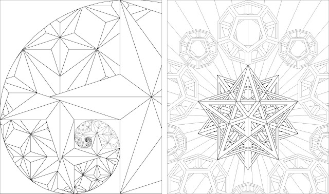 Golden Ratio Coloring Book 40520 Loadtve