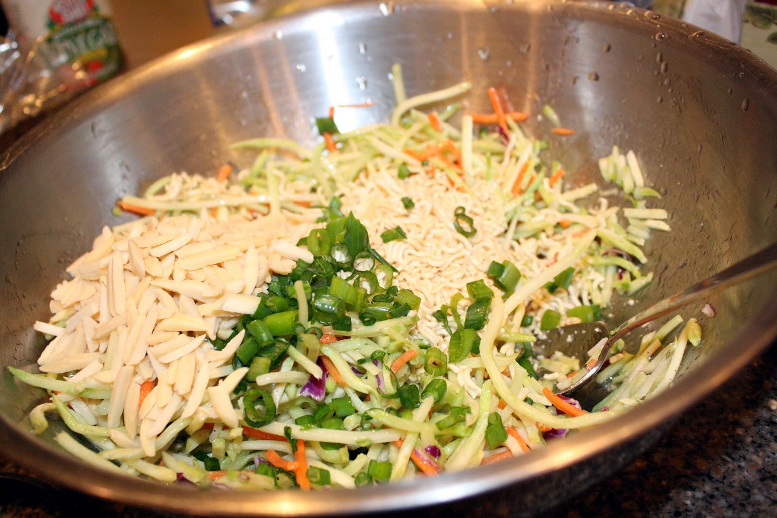 Recipe: Broccoli Slaw aka Girl Food at It's Finest - Rae ...