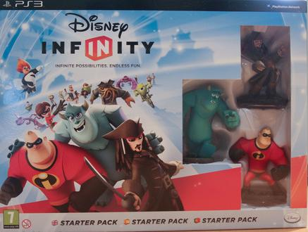 DISNEY INFINITY - a unique toy based video game