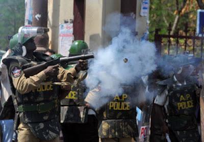 Bomb explosion near Raj Bhavan