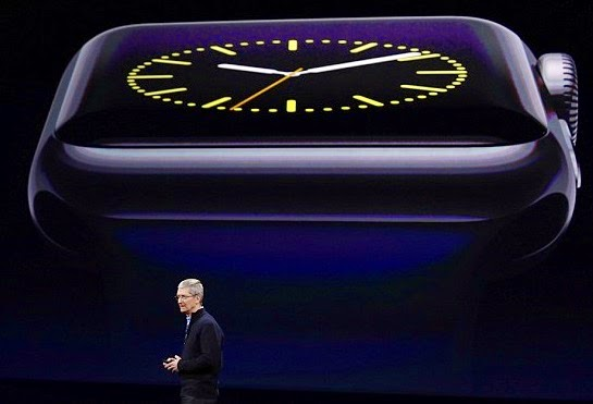 Παρουσίαση του ρολοιού της Apple από τον Tim Cook