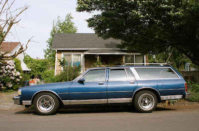 1987 Chevrolet Caprice Classic Wagon.