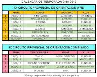 Calendario Cádiz 2018-2019
