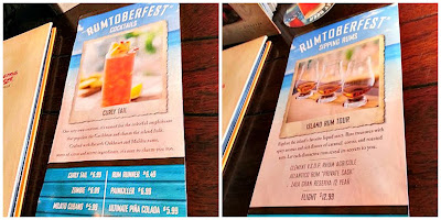 Rumtoberfest Bahama Breeze drinks