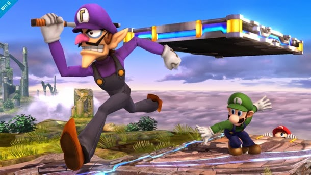 Waluigi será un personaje de apoyo en Super Smash Bros.