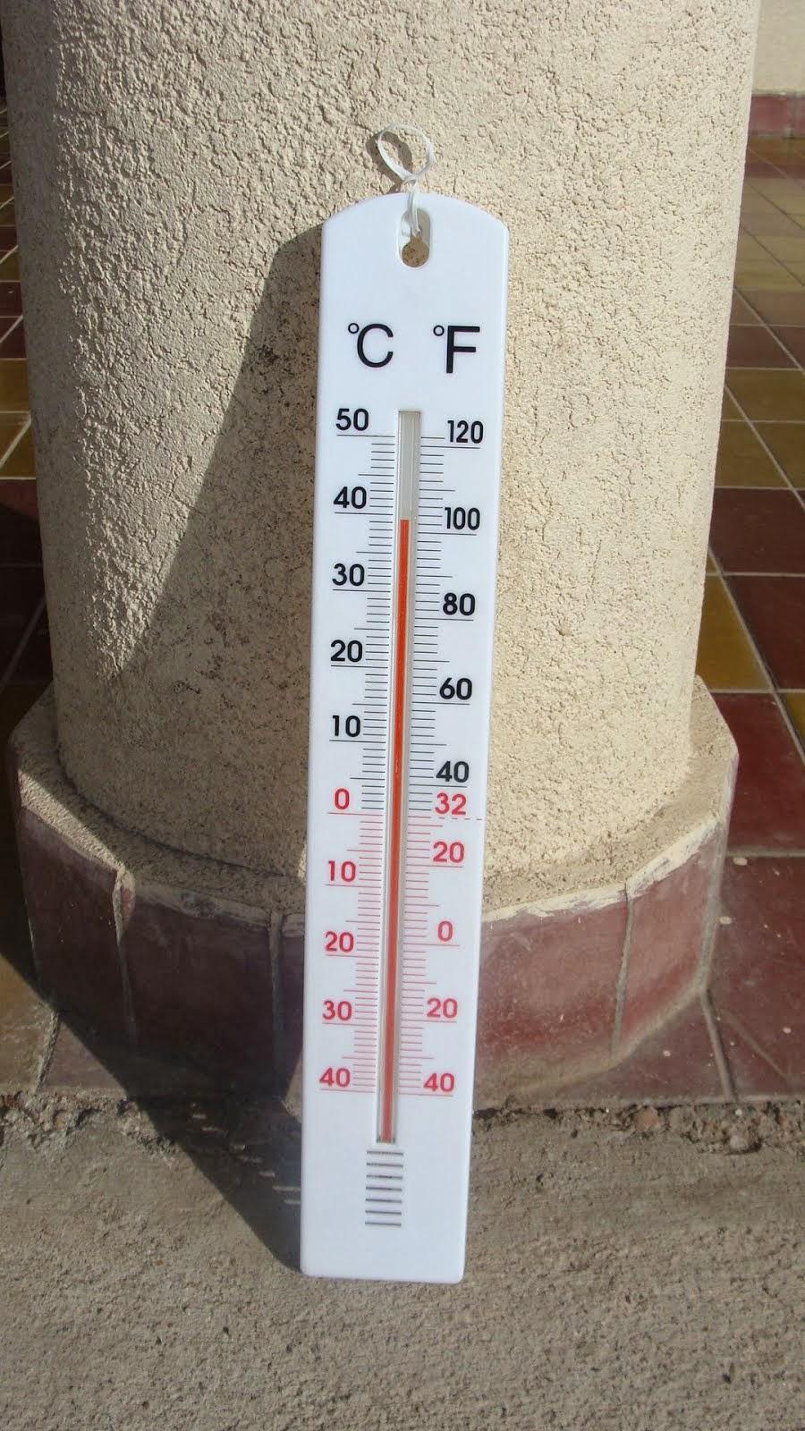 EL TERMÓMETRO MARCÓ 39°C ...