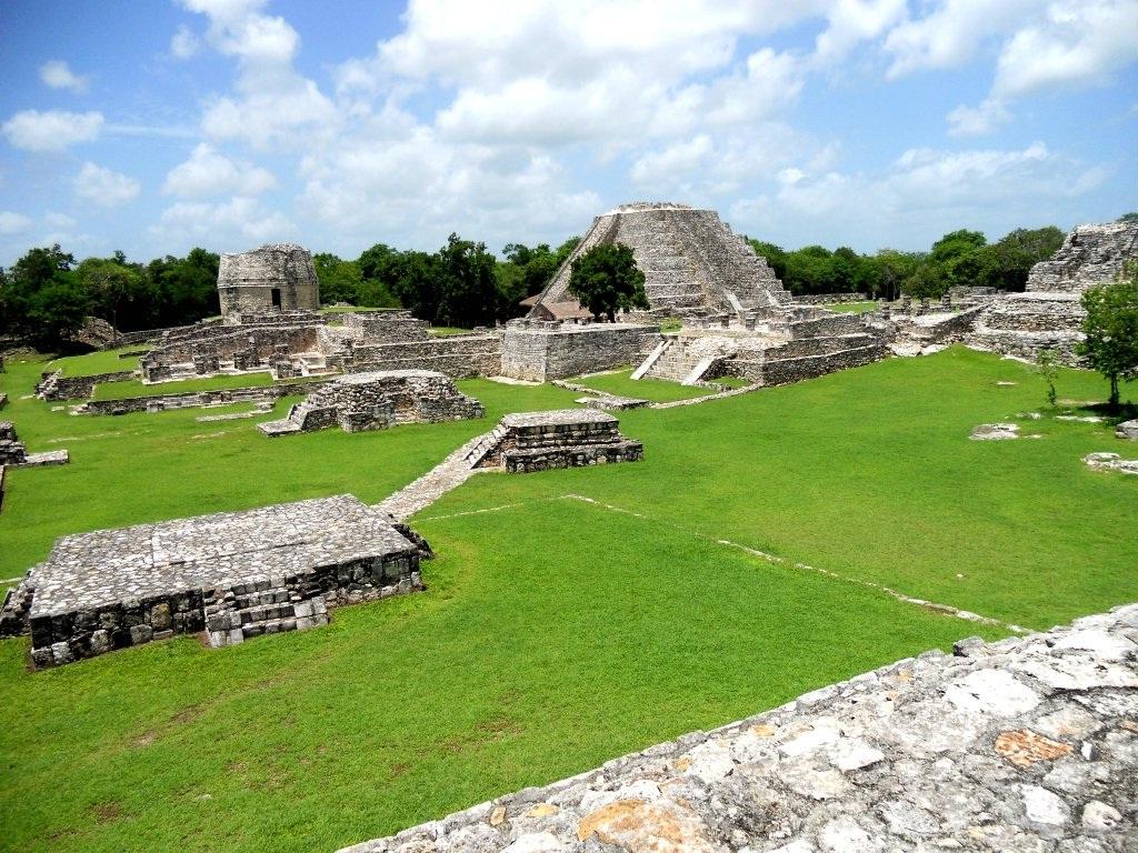Ruinas Mayas Mayapan Yucatan Mexico