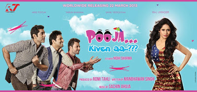 Poster Of Upcoming Punjabi Movie Pooja Kiven Aa