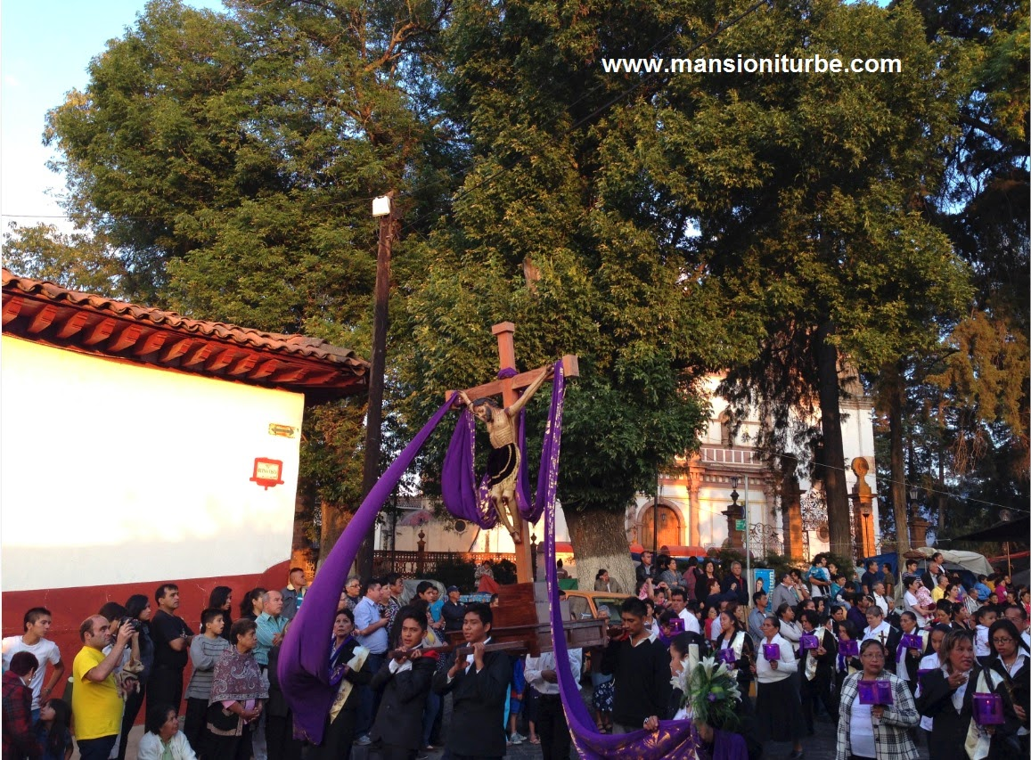 Holy Week in Patzcuaro Mexico