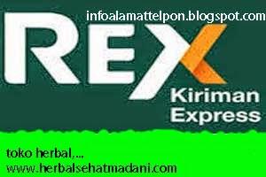 alamat ekspedisi rex express ambon