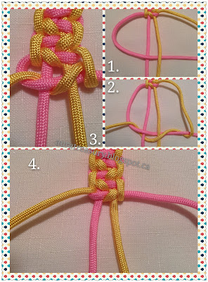 How to make Indian Trail Paracord Ankle Bracelet