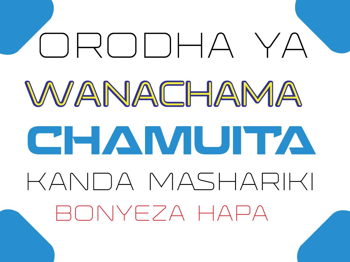 WANACHAMA -MASHARIKI