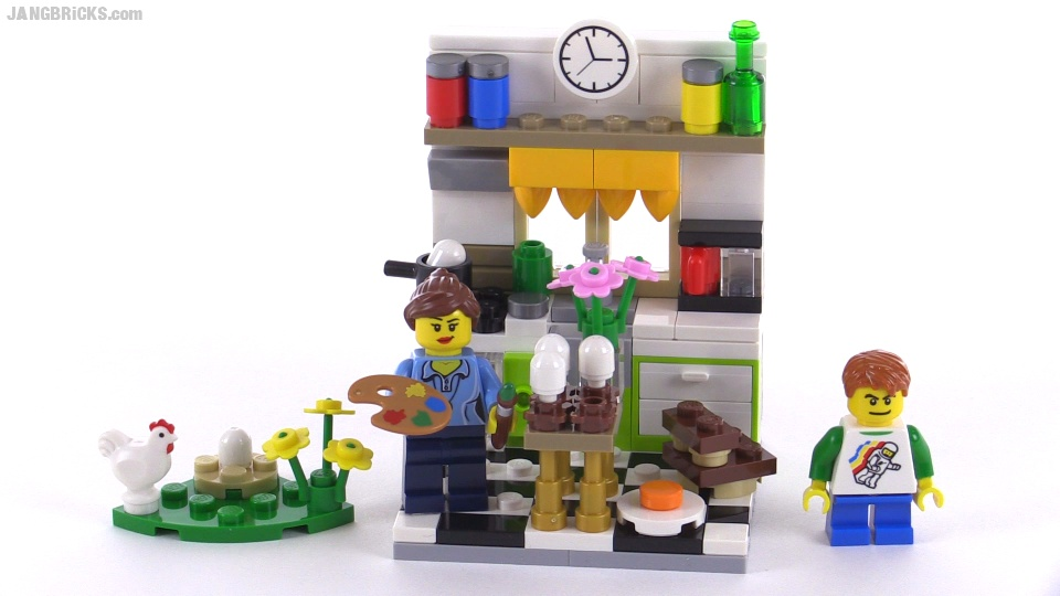 Jangbricks lego reviews mocs march 2015 lego painting easter eggs review set 40121 negle Image collections