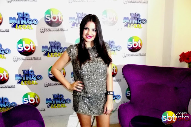"Maite Perroni no ""Domingo Legal""; veja a cobertura completa do Portal SBTista"