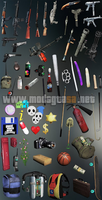Weapons INSANITY (Armas em HD)