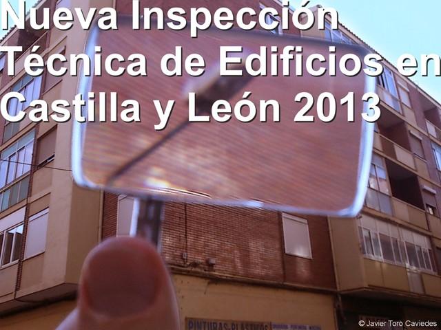 nueva ite castilla y leon 2013