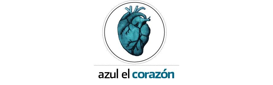 azul, el corazón ♥