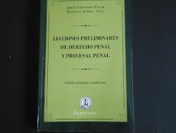 """""""Lecciones Preliminares de Derecho Penal y Procesal Penal"""""""