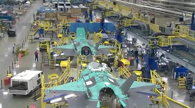 Lean Simulations: Lean Production Techniques - Lockheed's F-35 Factory
