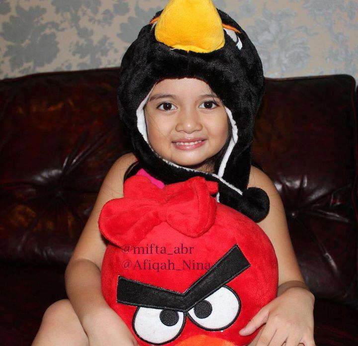 Afika dan Angry Birds