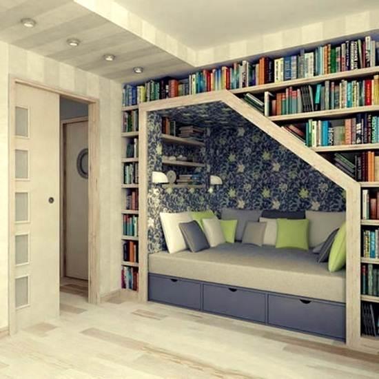 sofa-dilengkapi-rak-buku