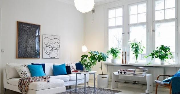 Peque o piso escandinavo en verde y azul la garbatella - Piso pequeno estilo nordico ...