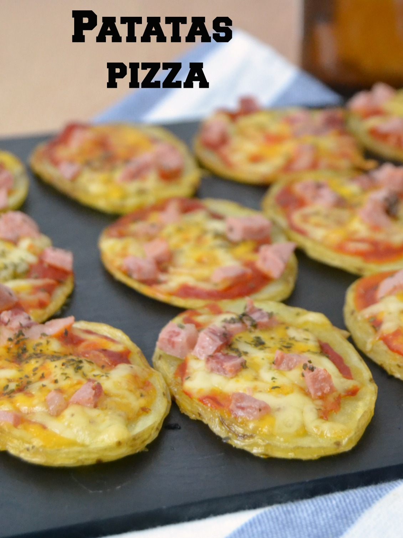 Patatas pizza cuuking recetas de cocina for Resetas para comidas