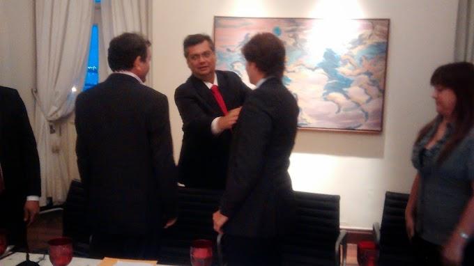 Reunião de Léo Coutinho e Flávio Dino tem como principal tema recursos para a saúde