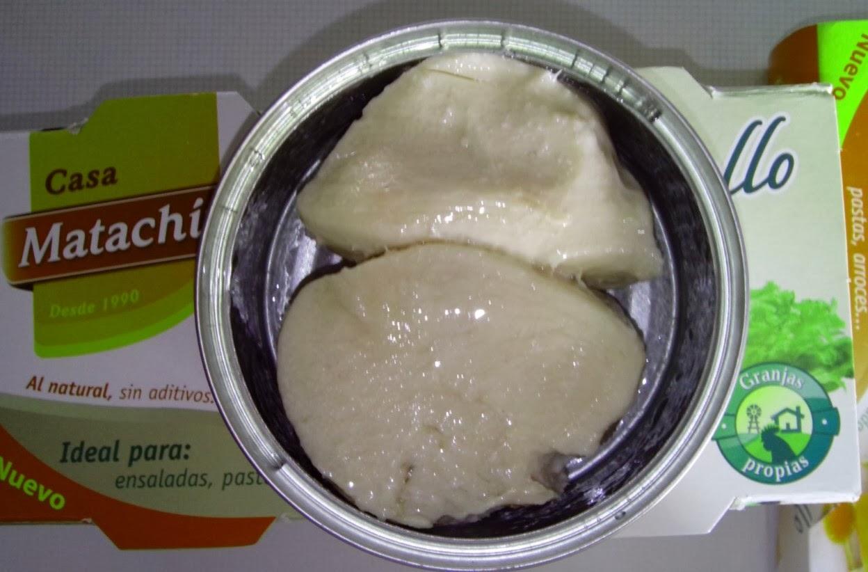 Pollo en lata Casa Matachín