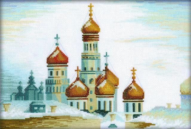 RTO, Вид на Колокольню Ивана Великого и купола Успенского собора