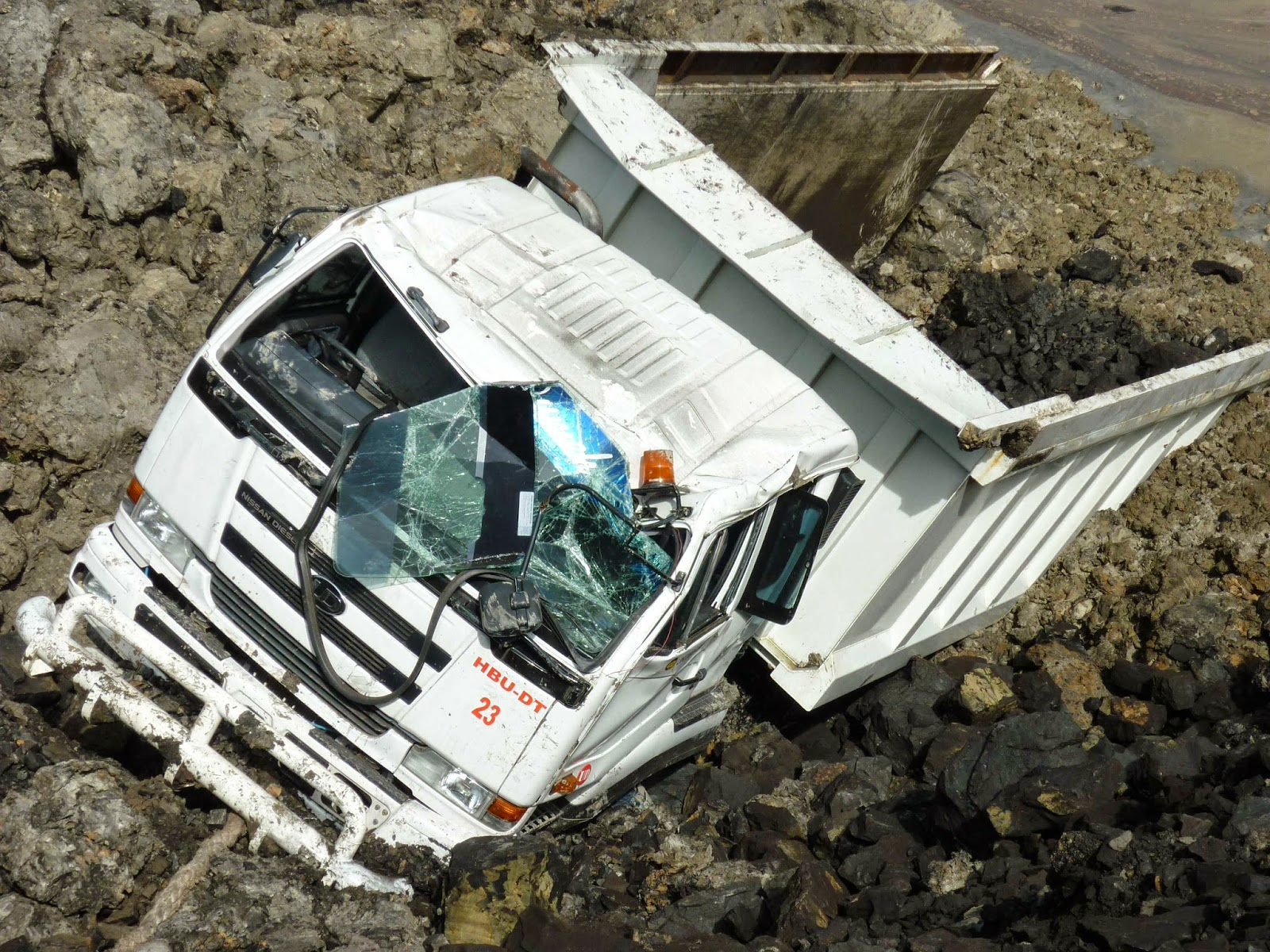 mine road incident