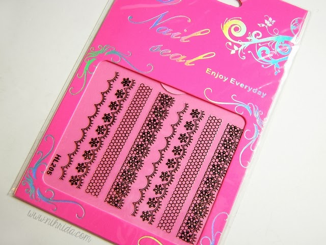Born Pretty Store Lace Nail Stickers