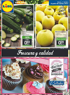 Lidl catalogo de oferta 14 20 noviembre 2013 madrid for Catalogo lidl granada
