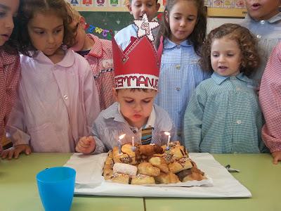Emmanuel cumple 4 años