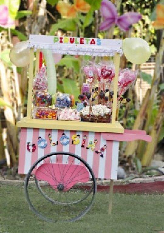 Carro de chuches tu boda de ensue o - Carro de chuches para cumpleanos ...