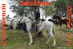 X CONVIVENCIA CABALLISTAS 2016