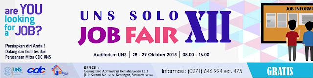 UNS Solo Job Fair XII